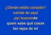 Shakira - Donde Estas Corazon (Karaoke)