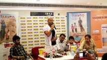 sachin naughtyness with pressconference in  kota / sachin did //Movie Parmotion Time