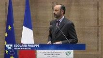 Devant les élus locaux, Philippe assure vouloir trouver une autre solution que la baisse des dotations