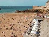Plages de Saint Malo La Richardais Dinard Cancale Vacances Meilleure Plage Tourisme Bretagne – vlog