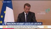 """Macron veut """"repenser en profondeur l'interaction entre l'Etat et les collectivités"""" territoriales"""