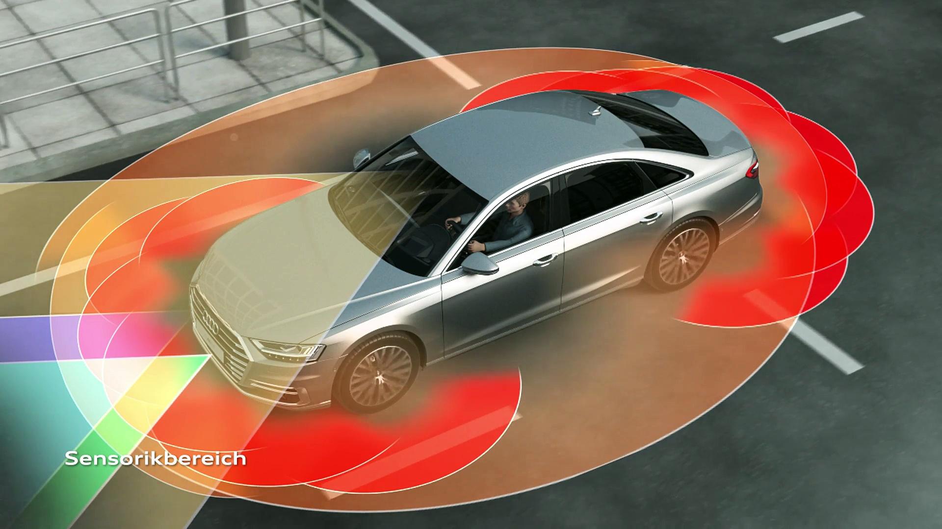Audi A8 – Audi AI Staupilot Animation