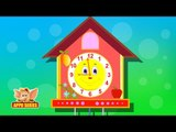 The Clock - Nursery Rhyme with Lyrics & Sing Along