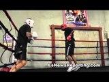 hector munoz sparring