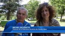 Hautes-Alpes : un brochet géant réalisé pour le Tour de France à Savines-le-Lac