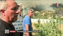 Incendie dans les Alpes-Maritimes : 250 pompiers mobilisés