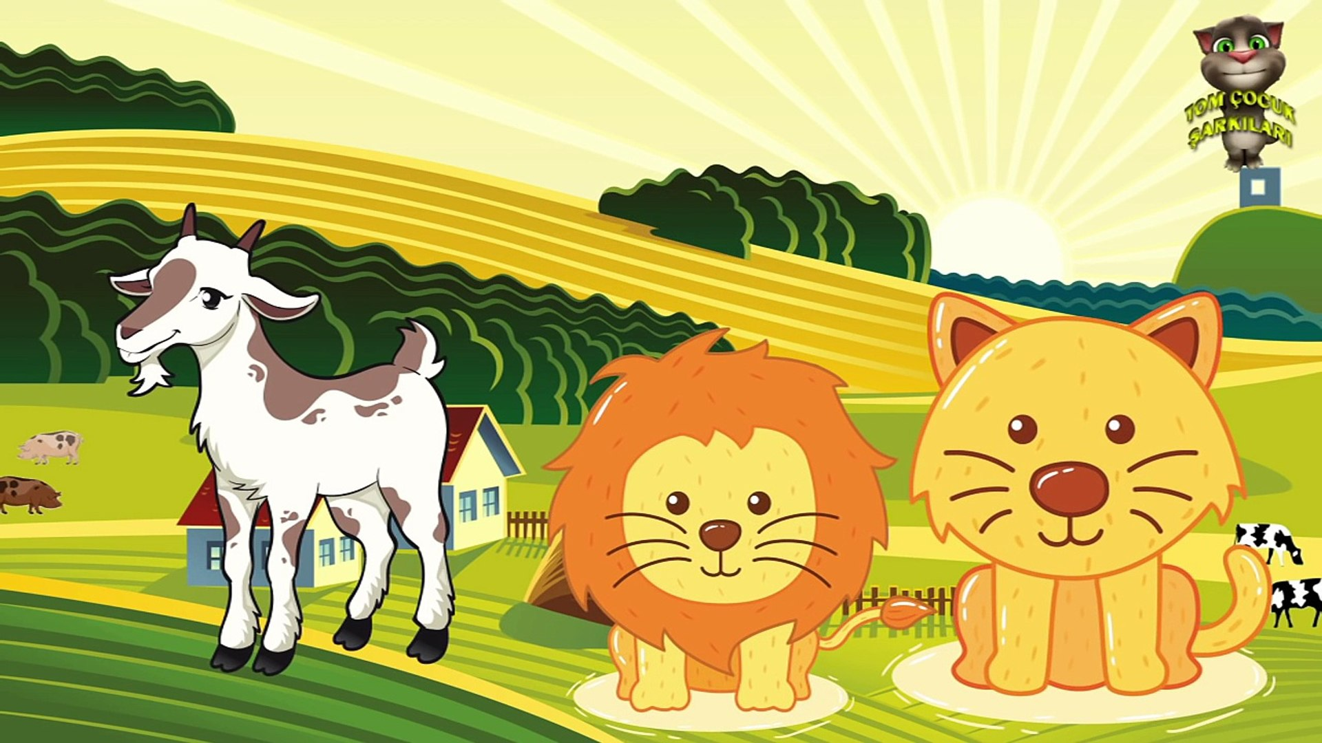 Hayvanları Öğreniyoruz  - Hayvan Sesleri - Çocuklar için Hayvanlar , Çizgi film izle 2017 & 2018
