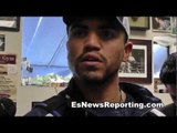 Victor Ortiz Talks About What He Told Marcos Maidana