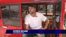 Navy Vet and Artist Drives Electric, Solar-Powered Trike Named `Freedomland`
