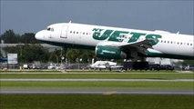 [HD] JetBlue Airways (NY Jets) A320 landing in Sarasota-Bradenton Intl. Airport