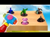 Learning Colors With Spiderman  Kids Superheroes Surprise Eggs Toys Surprise Egg  Video For Children
