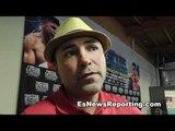 De La Hoya on Victor Ortiz vs Canelo Alvarez