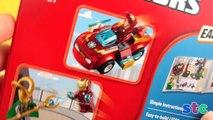 Construir héroes hierro jóvenes hombre movimiento Informe parada súper Lego vs loki 10721