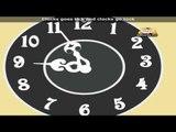 Clock Song with Lyrics - Nursery Rhyme