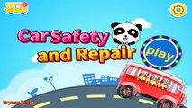 Coureurs course enfants pour Jeu machines dessins animés pro réparation auto panda lavage dr