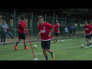 Moccone 2017, voci dal ritiro: Cazim Suljic