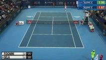 Fabio Fognini vs Dudi Sela ATP Shenzhen 2016