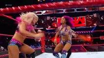 Sasha Banks & Bayley vs. Alexa Bliss & Nia Jax Raw, July 10, 2017