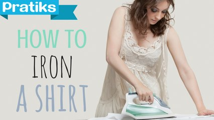 Lea's tips: How to iron a shirt