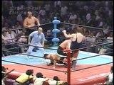 AJPW Road Warrior Animal & Road Warrior Hawk vs Jumbo Tsuruta & John Tenta