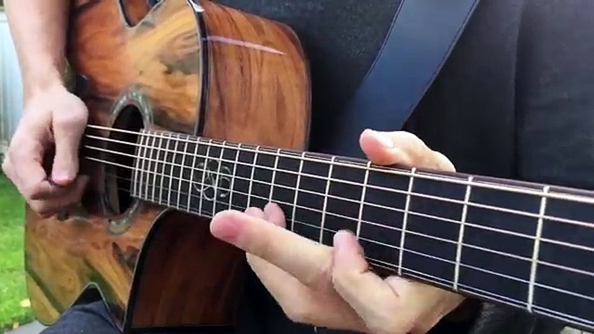 Stairway To Heaven Solo Led Zeppelin Acoustic Guitar Cover
