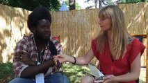 Notre interview de Michael Kiwanuka dans les coulisses du festival Beauregard
