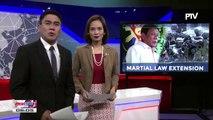 Palasyo: Pres. Duterte, hihilingin sa Kongreso na palawigin ang Martial Law hanggang December 31
