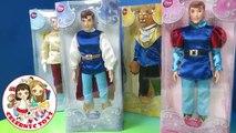 Bestia con encanto Nuevo apertura Príncipe príncipes princesa juguete Guillermo con Disney unboxing disney