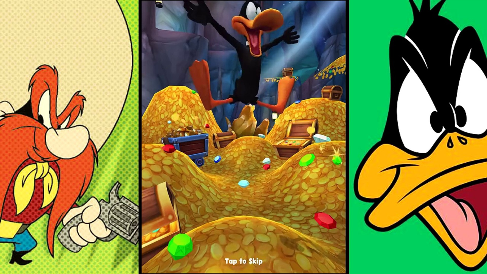 Looney Tunes: Dash - Episode four: Daffy Duck (iOS/Android) lets play gameplay walkthrough