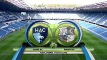 Havre AC - Amiens SC (0-0) - Résumé - (HAC - ASC) 2016-17