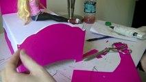 Lit artisanat bricolage poupée maison de poupées vacances Comment enfants faire faire faire à Il jouets tutoriel Barbie