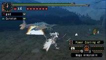 Tigrex vs. Ancient Dragonwood Bow - Monster Hunter Freedom Unite - PSP