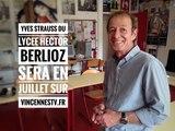 Comment Yves Strauss a t'il commencé sa carrière au lycée Hector Berlioz de Vincennes
