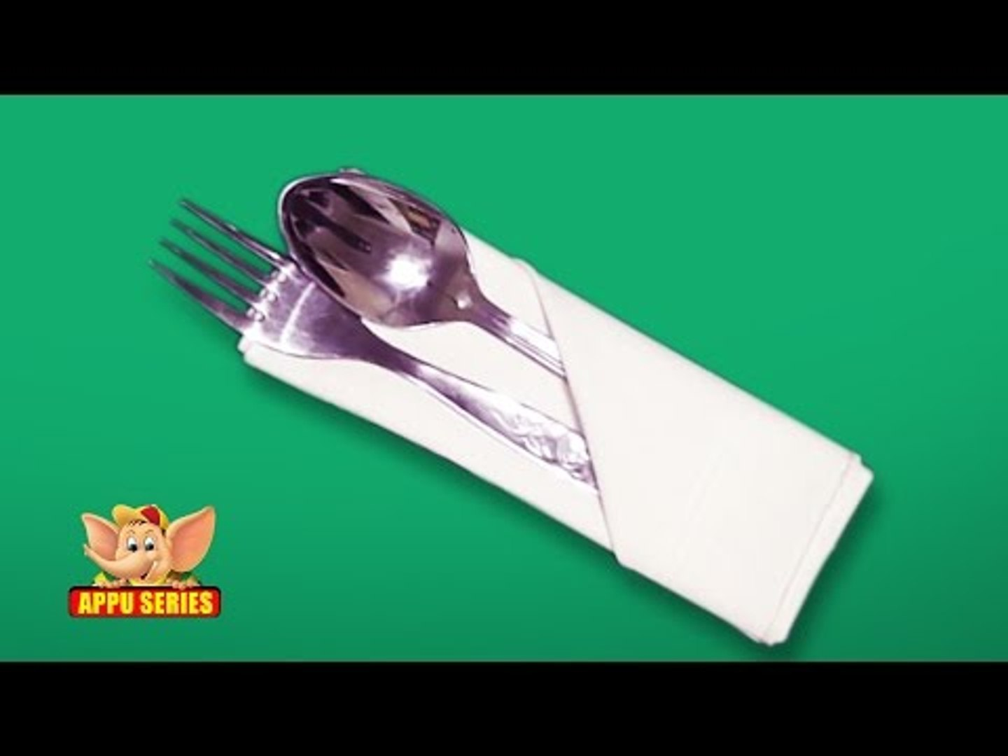 Fold A Silverware Napkin Pouch Video Dailymotion