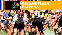 La course en 30 secondes - Étape 16 - Tour de France 2017