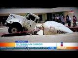 Aparece otro socavón en el norte de México | Noticias con Francisco Zea