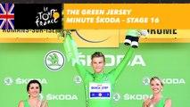 The ŠKODA green jersey minute - Stage 16 - Tour de France 2017