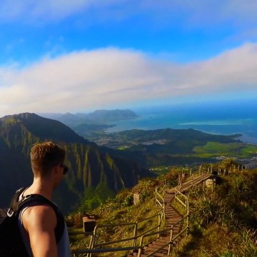 This hike has unbelievable views of paradise
