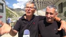 Hautes-Alpes : les amoureux du Tour de France attendent l'arrivée du peloton avec impatience au col du Galibier
