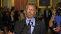 Rand Paul makes statement on failed health care bill