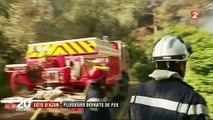 Alpes-Maritimes : nouveaux départs de feu, les pompiers sur le qui-vive