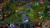 C9 vs Alliance Game 1 S4 Worlds  LoL World Championship 2014 Group D Cloud 9 vs ALL [720] part 1/2