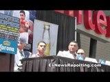 Ortiz Talks About Berto and Josesito Lopez