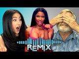 REACT REMIX - Nicki Minaj - Anaconda (Teens & Elders)
