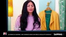 Les Reines du Shopping : Une candidate fait le buzz avec un décolleté plongeant (vidéo)