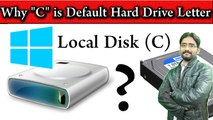 """Why """"C"""" is the Default Hard Drive Letter 