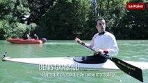 Interview sur l'eau avec le champion olympique de canoë Denis Gargaud