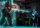 Les Indestructibles (2004) : scène finale du film introduisant un nouvel antagoniste