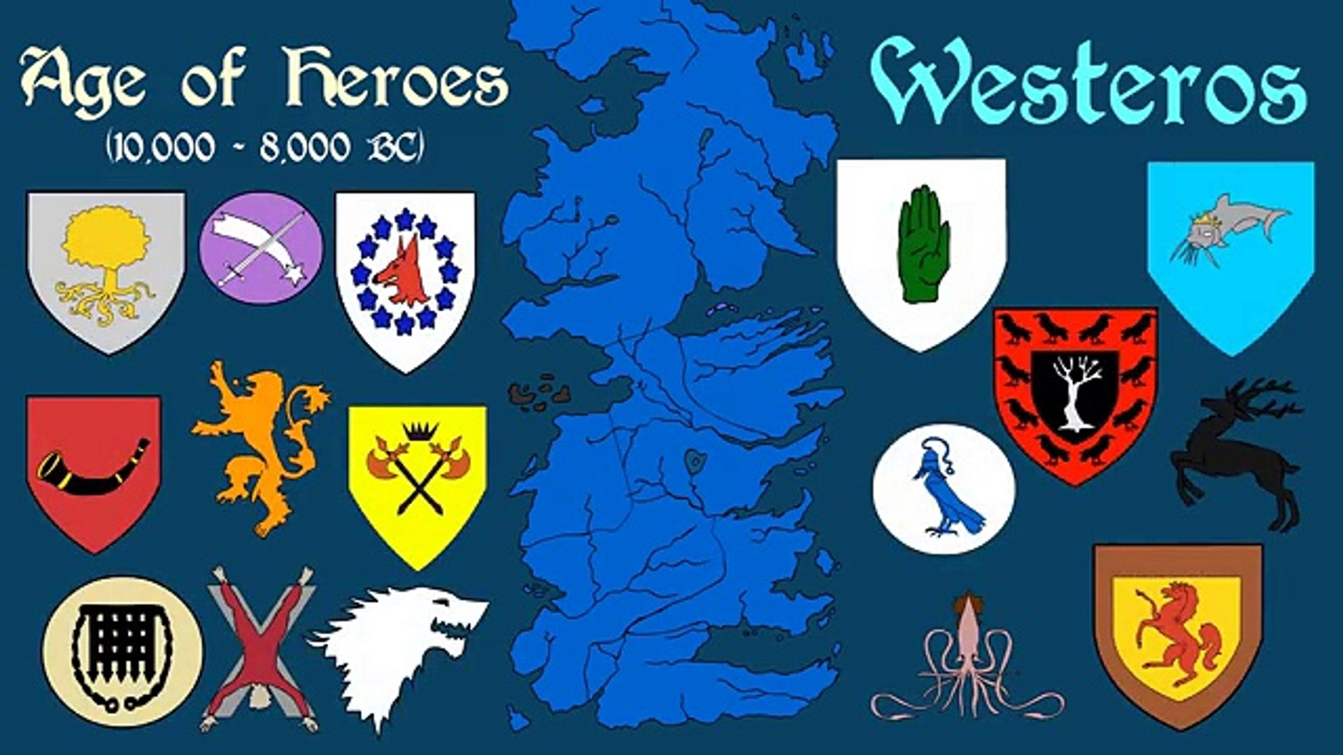 Westeros Karte Hd.Ancient Westeros Chapter Three The Age Of Heroes