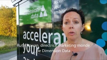Ruth Rowan, directrice marketing monde de Dimension Data